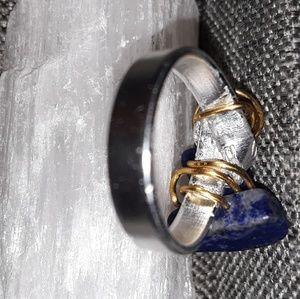 Handmade Lapis lazuli Ring